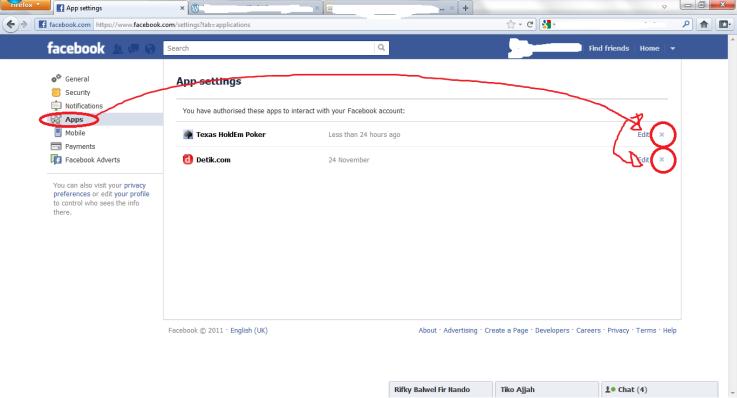 facebook chat otomatis